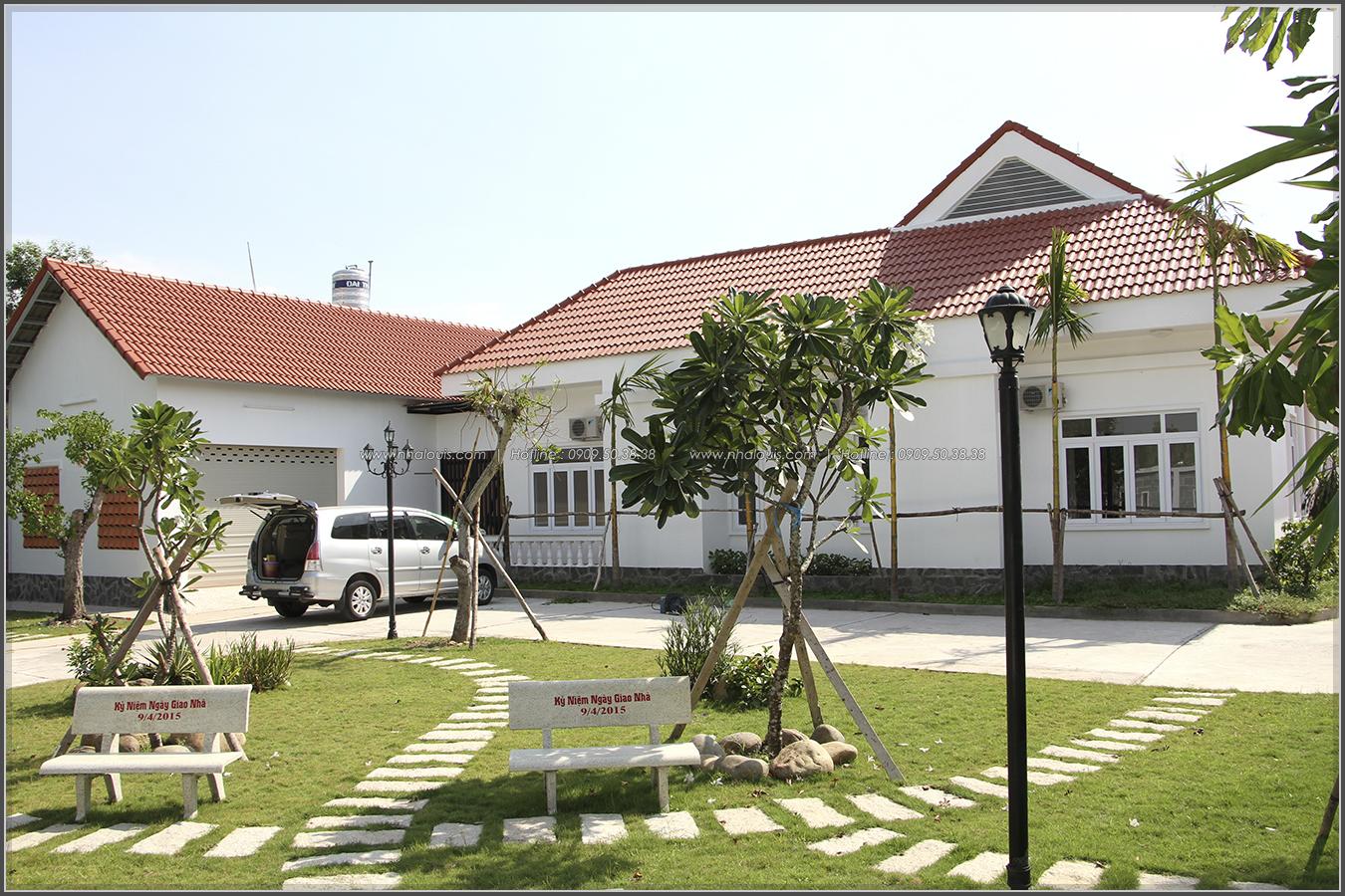 Thi công xây dựng biệt thự sân vườn đẹp hiện đại tại Củ Chi