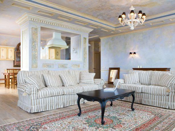 thiết kế phòng khách dành cho biệt thự đẳng cấp
