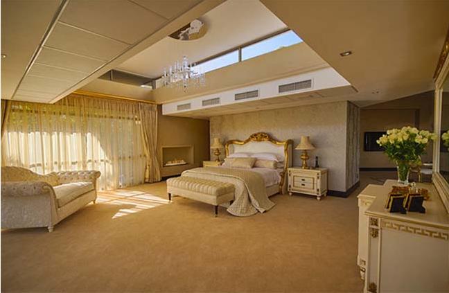 thiết kế mẫu phòng ngủ biệt thự cổ điển