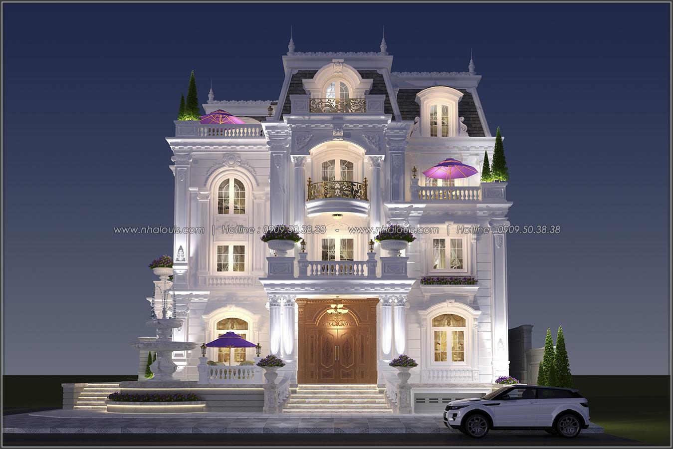 Đẳng cấp đích thực trong thiết kế biệt thự cổ điển 3 tầng tại Bình Tân - 1
