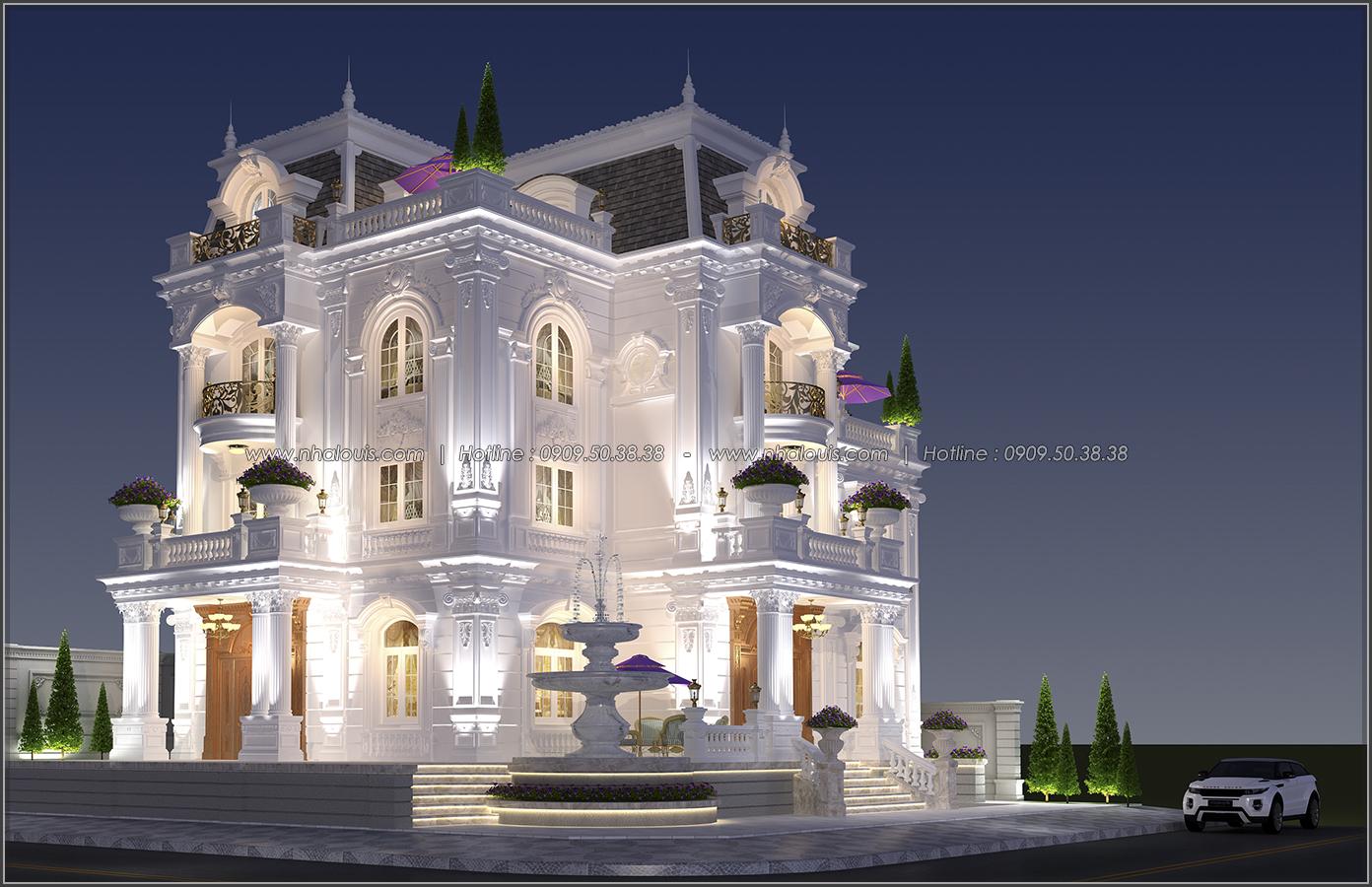 Đẳng cấp đích thực trong thiết kế biệt thự cổ điển 3 tầng tại Bình Tân