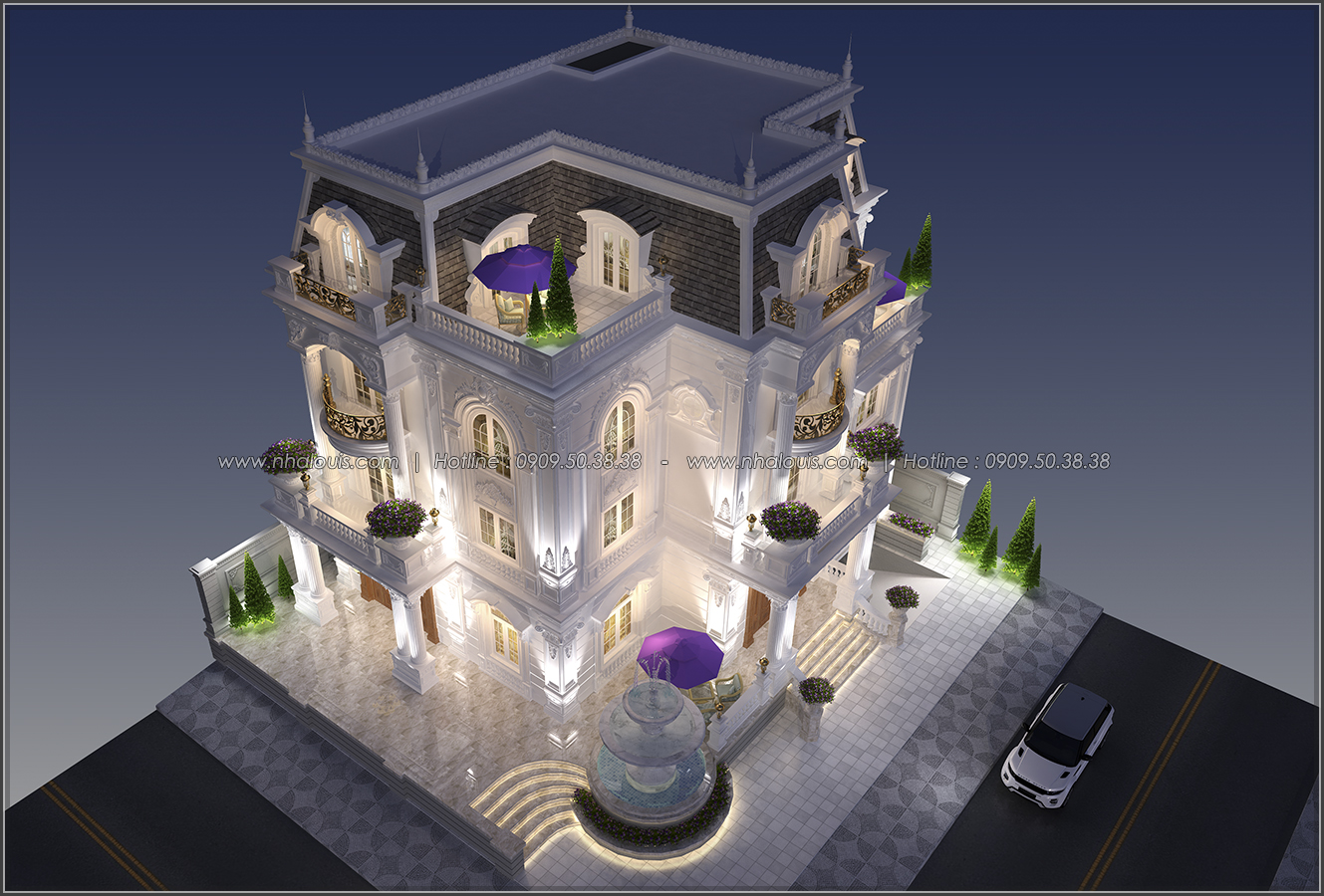 Đẳng cấp đích thực trong thiết kế biệt thự cổ điển 3 tầng tại Bình Tân - 3