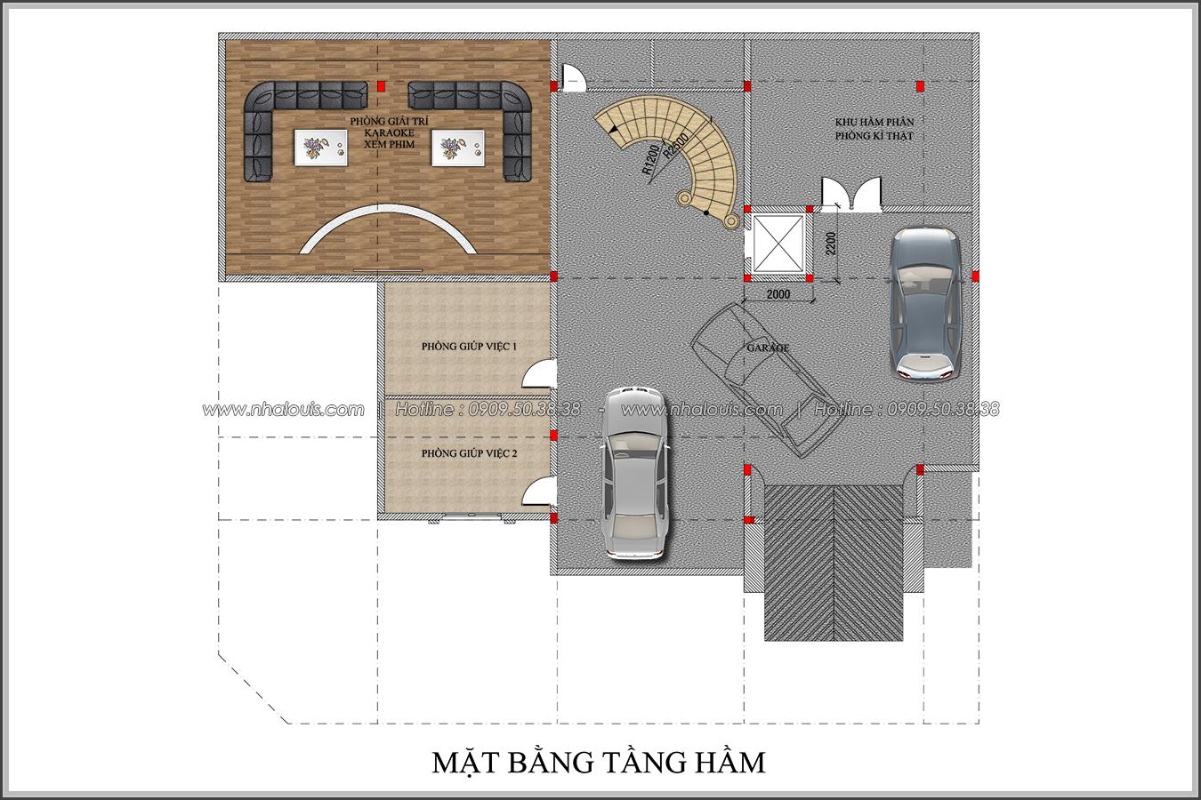 Đẳng cấp đích thực trong thiết kế biệt thự cổ điển 3 tầng tại Bình Tân - 4