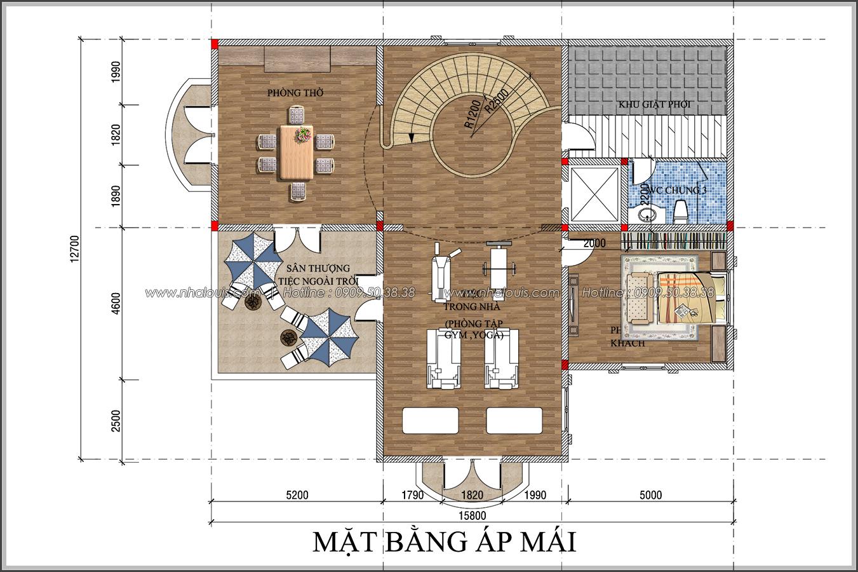 Đẳng cấp đích thực trong thiết kế biệt thự cổ điển 3 tầng tại Bình Tân - 8