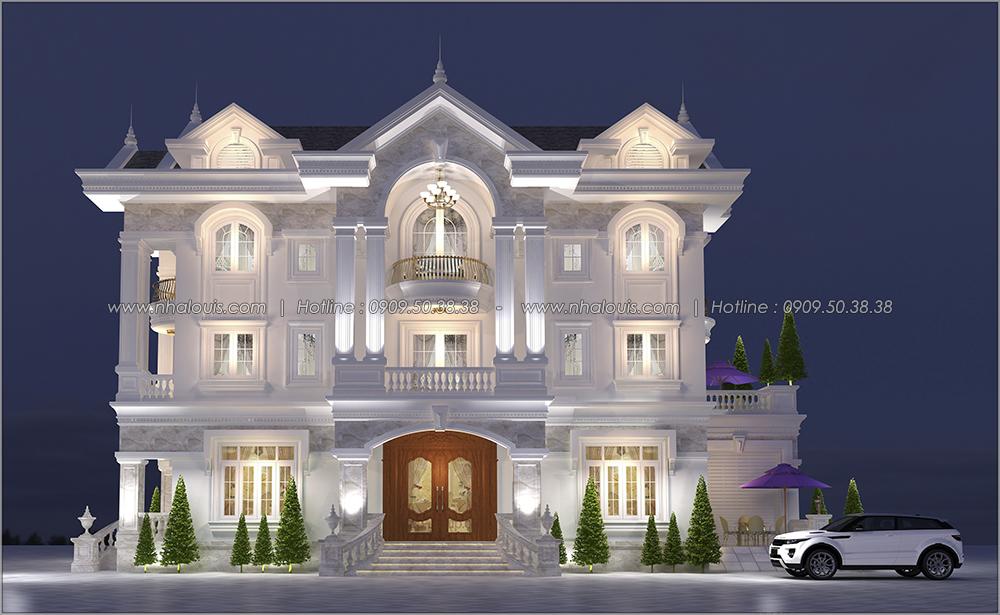 Lặng người trước thiết kế biệt thự tân cổ điển tại Tân Phú đẹp ngỡ ngàng - 1