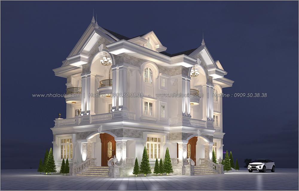 Lặng người trước thiết kế biệt thự tân cổ điển tại Tân Phú đẹp ngỡ ngàng - 2