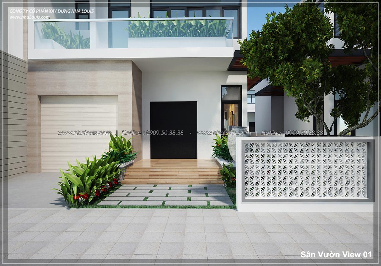 Mẫu thiết kế biệt thự vườn Lucasta Villa xanh mát cùng thiên nhiên - 1