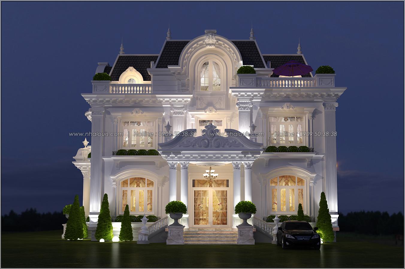Mê mẩn với thiết kế biệt thự kiểu Pháp tại Biên Hòa đẹp kiêu sa, diễm lệ - 1