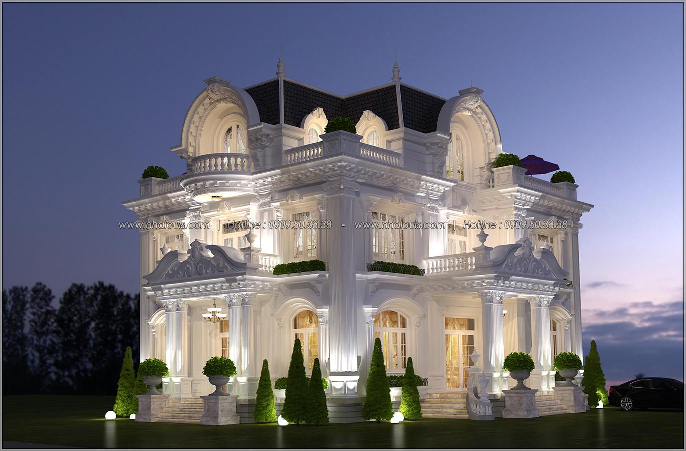 Mê mẩn với thiết kế biệt thự kiểu Pháp tại Biên Hòa đẹp kiêu sa, diễm lệ