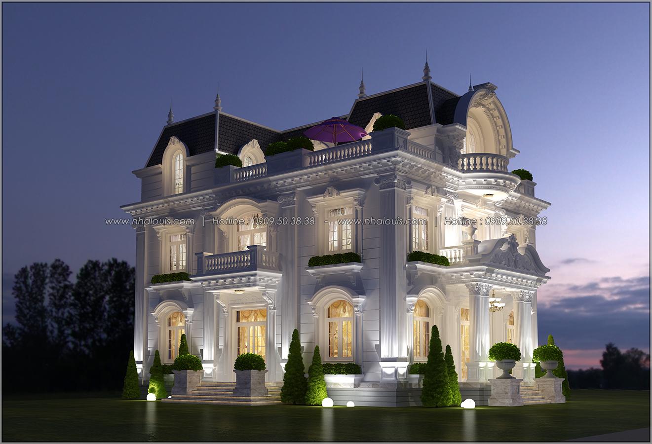 Mê mẩn với thiết kế biệt thự kiểu Pháp tại Biên Hòa đẹp kiêu sa, diễm lệ - 4