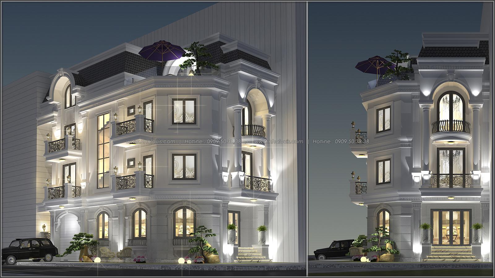 Thiết kế biệt thự tại Bình Dương theo phong cách cổ điển đẹp lộng lẫy - 1