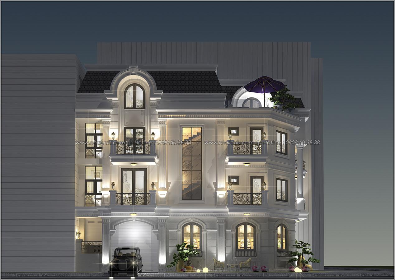 Thiết kế biệt thự tại Bình Dương theo phong cách cổ điển đẹp lộng lẫy - 2