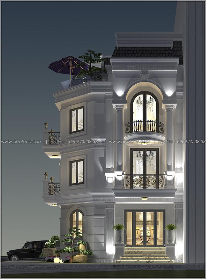 Thiết kế biệt thự tại Bình Dương theo phong cách cổ điển đẹp lộng lẫy - 3