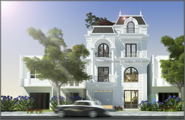 Thiết kế biệt thự tân cổ điển tại Đồng Nai đẹp không tì vết - 1