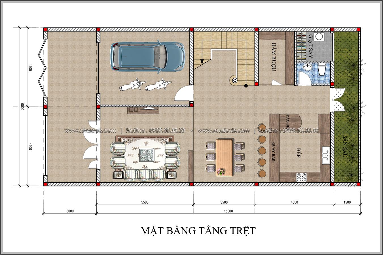 Thiết kế biệt thự tân cổ điển tại Đồng Nai đẹp không tì vết - 3