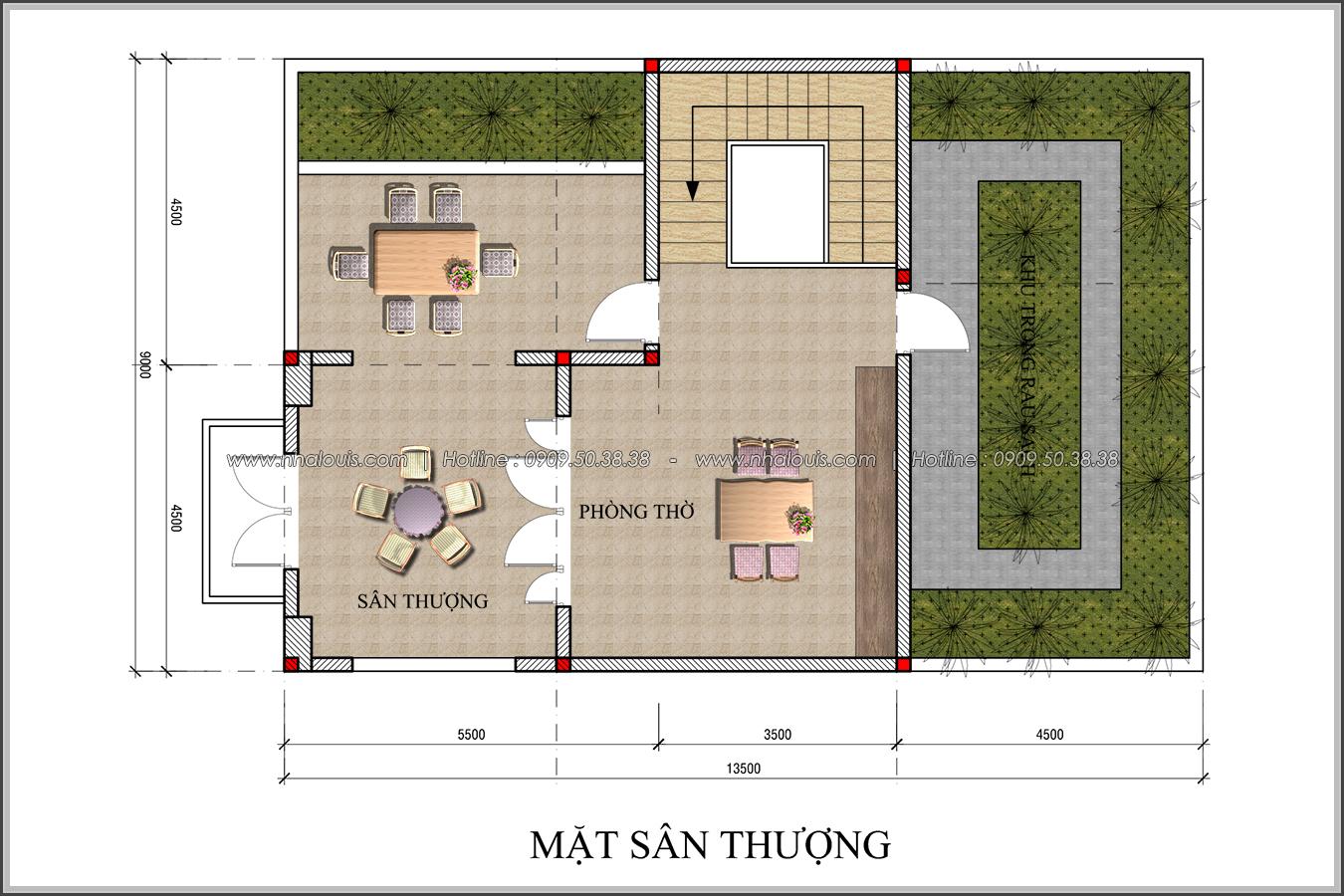Thiết kế biệt thự tân cổ điển tại Đồng Nai đẹp không tì vết - 6