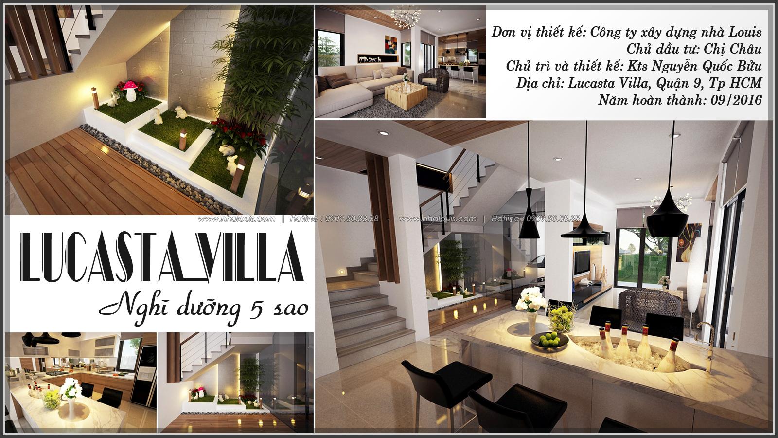Thiết kế nội thất biệt thự Lucasta Villa tại quận 9 xứng tầm đẳng cấp - 1