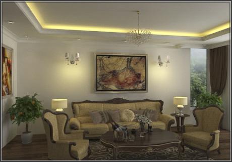 Thiết kế nội thất tân cổ điển cho biệt thự đẹp ấn tượng và đẳng cấp - 3