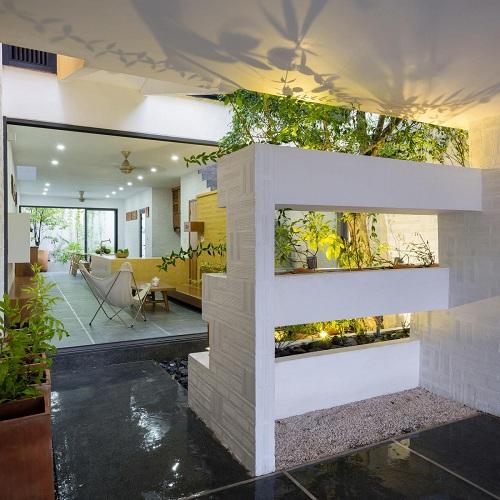 Không gian xanh mát hơn cùng với mẫu biệt thự vườn hiện đại - 02