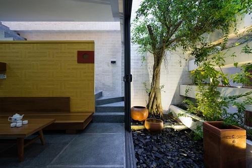 Không gian xanh mát hơn cùng với mẫu biệt thự vườn hiện đại - 03