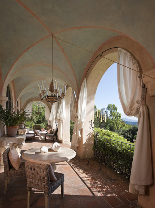 Mẫu thiết kế biệt thự phong cách Italy đẹp nguy nga - 03