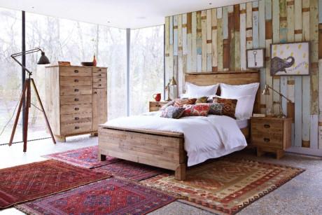 Phong cách Rustic dành cho phòng ngủ xinh đẹp lãng mạn
