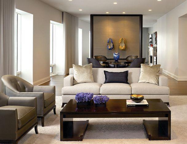 Phòng khách biệt thự theo phong cách Grasscloth đẹp trang nhã và tinh tế - 06