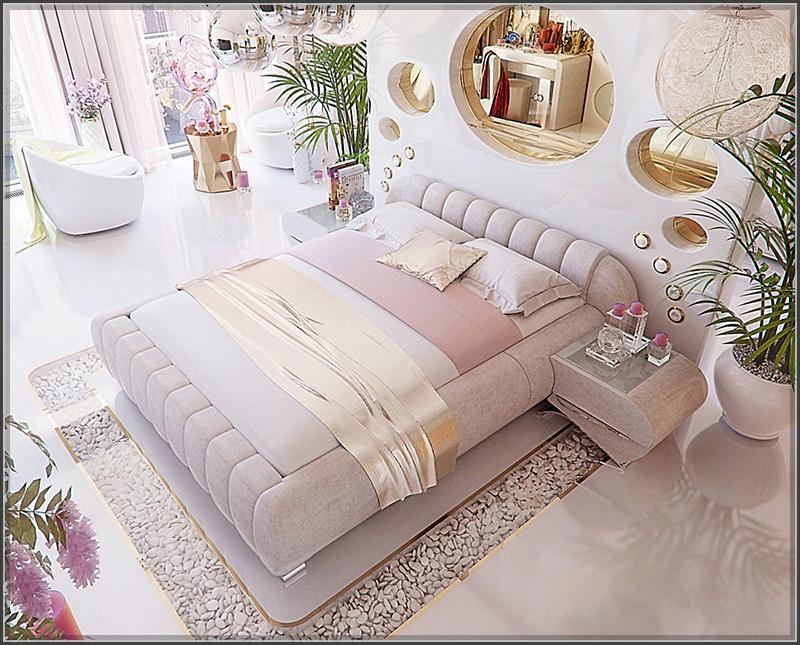 """Phòng ngủ đẹp mê hồn khiến ai ngắm nhìn đều có thể """"tan chảy"""" - 02"""