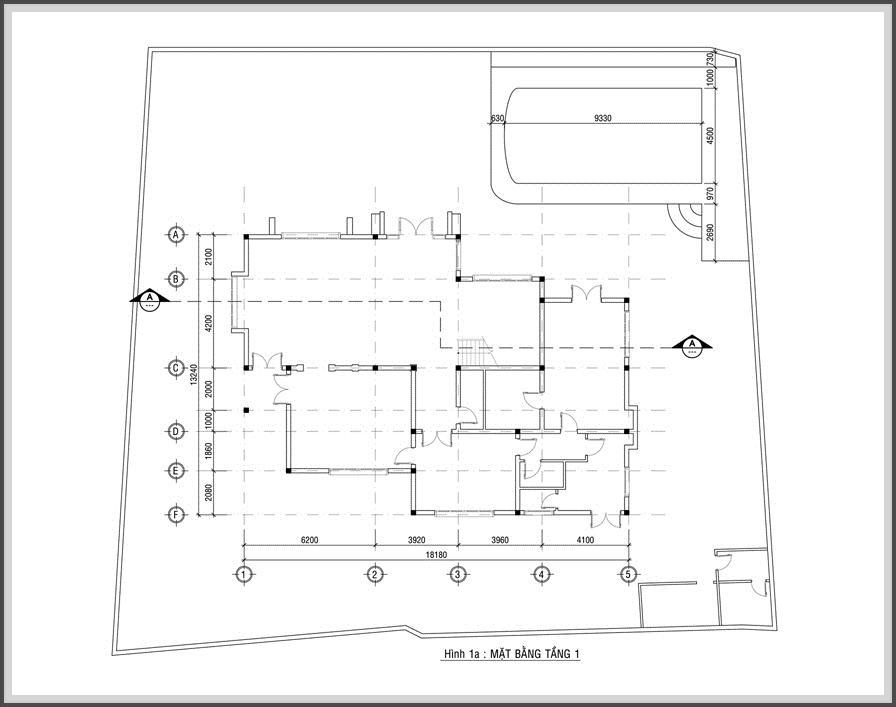 Thiết kế biệt thự hiện đại đẹp lung linh giữa lòng phố thị - 02