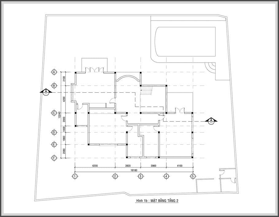 Thiết kế biệt thự hiện đại đẹp lung linh giữa lòng phố thị - 03