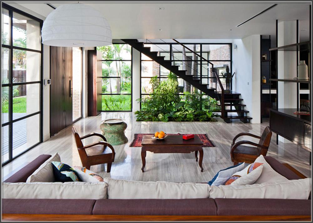 Thiết kế biệt thự hiện đại đẹp lung linh giữa lòng phố thị - 04