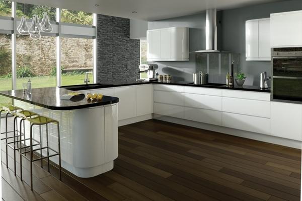 Thiết kế phòng bếp hiện đại cho biệt thự cùng những sắc màu độc đáo - 01
