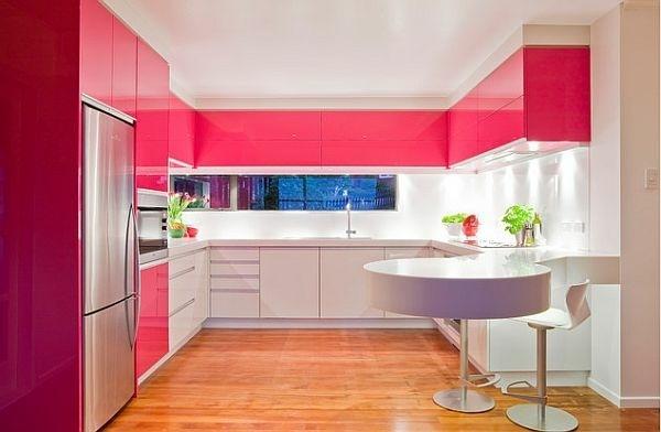 Thiết kế phòng bếp hiện đại cho biệt thự cùng những sắc màu độc đáo - 02