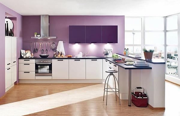 Thiết kế phòng bếp hiện đại cho biệt thự cùng những sắc màu độc đáo - 04