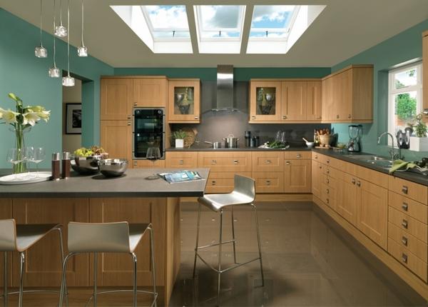 Thiết kế phòng bếp hiện đại cho biệt thự cùng những sắc màu độc đáo - 05