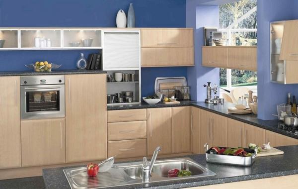 Thiết kế phòng bếp hiện đại cho biệt thự cùng những sắc màu độc đáo - 06