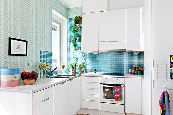 Thiết kế phòng bếp tươi mát với những điểm nhấn từ thiên nhiên - 01