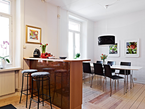 Thiết kế phòng bếp tươi mát với những điểm nhấn từ thiên nhiên - 05