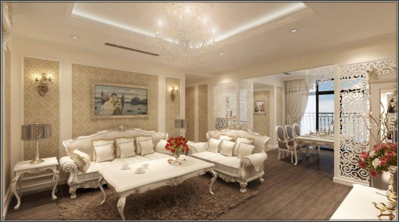 Biệt thự cổ điển Pháp xinh đẹp với thiết kế nội thất bên trong cực chất - 02