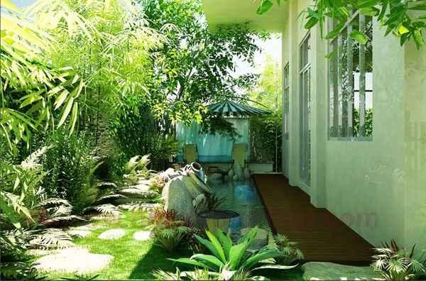 Biệt thự nhà vườn mái Thái khác biệt và độc đáo - 05