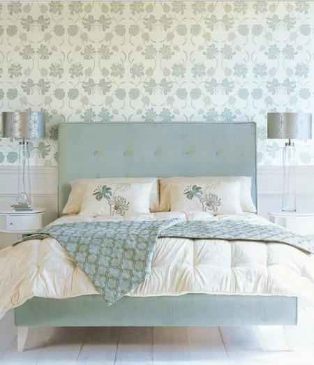 Giấy dán tường điểm tô cho những mẫu phòng ngủ đẹp mê