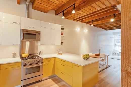 Không gian nấu nướng bừng sáng với cách phối màu nhà bếp cực hay