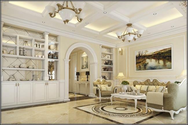 Thiết kế nguy nga của mẫu biệt thự cổ điển 1 tầng đẹp hút mắt - 02