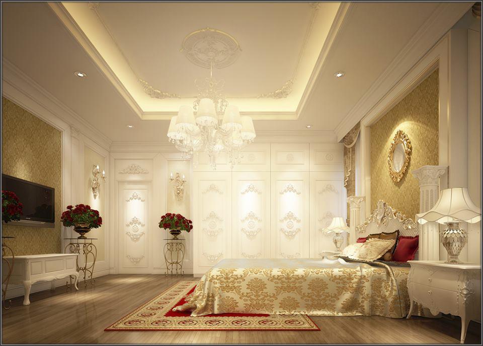 Thiết kế nguy nga của mẫu biệt thự cổ điển 1 tầng đẹp hút mắt - 04