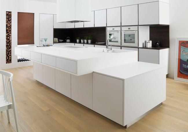 Những phòng bếp theo đuổi xu hướng hiện đại, tiện dụng