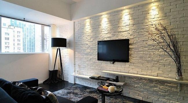 Phòng khách màu trắng mang vẻ đẹp tinh tế, hiện đại
