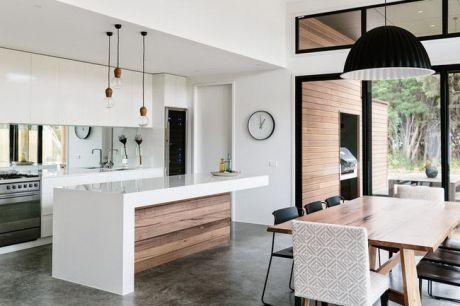 Sức hút của những thiết kế phòng bếp mở tuyệt đẹp