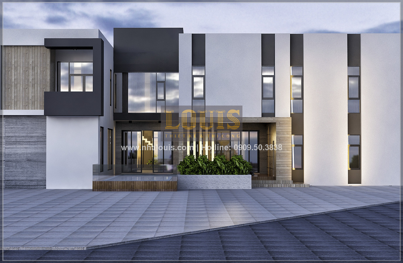 Thiết kế biệt thự hiện đại ở Cần Thơ đẹp không tỳ vết - 05