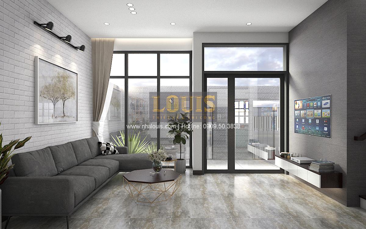 Thiết kế biệt thự mini 2 tầng tại Bình Dương phong cách hiện đại tinh tế - 06