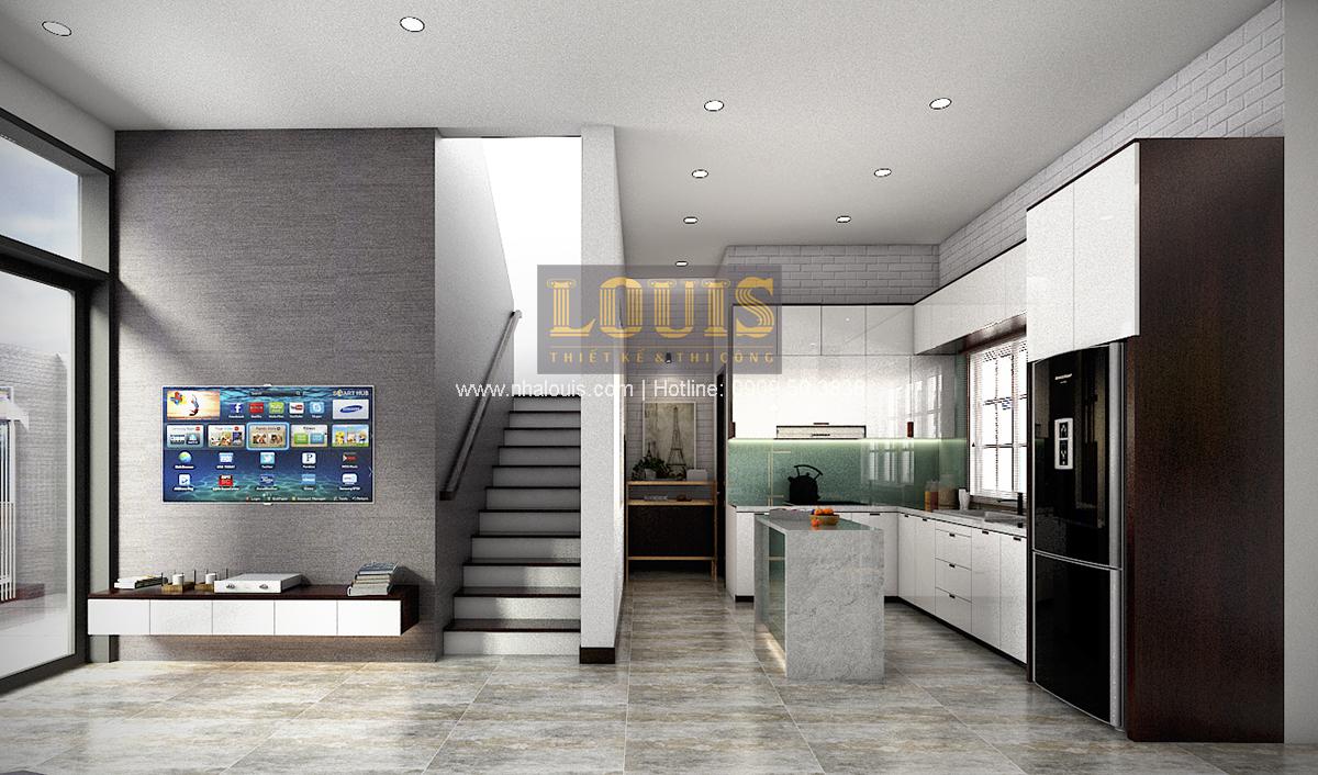 Thiết kế biệt thự mini 2 tầng tại Bình Dương phong cách hiện đại tinh tế - 07